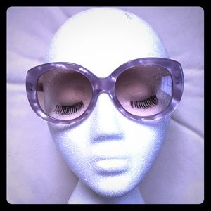 Marc Jacobs pearl-pattern sunglasses